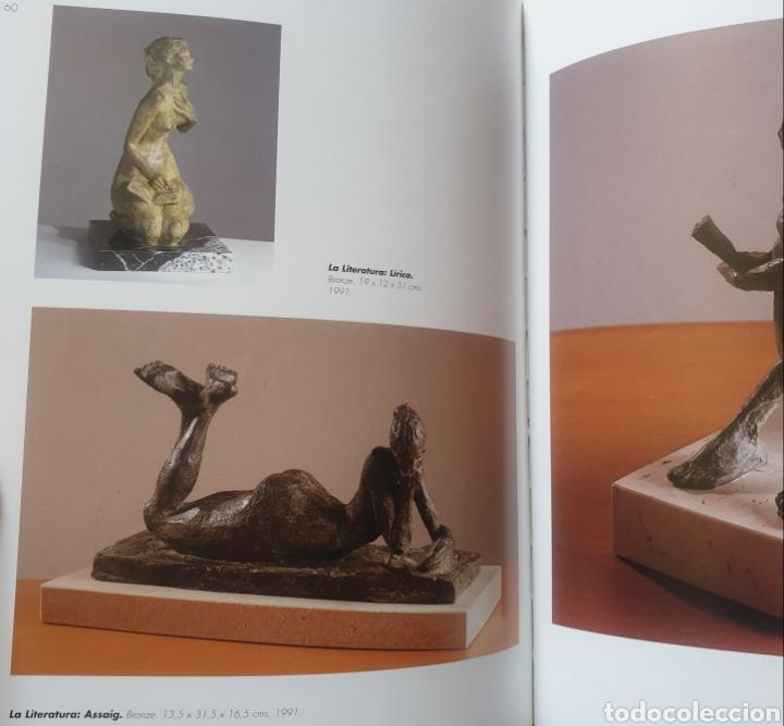 Arte: Mercè Riba (1952) - La Literatura,Ensayo.Bronce.Firmada.Publicada.1991. - Foto 12 - 136820736