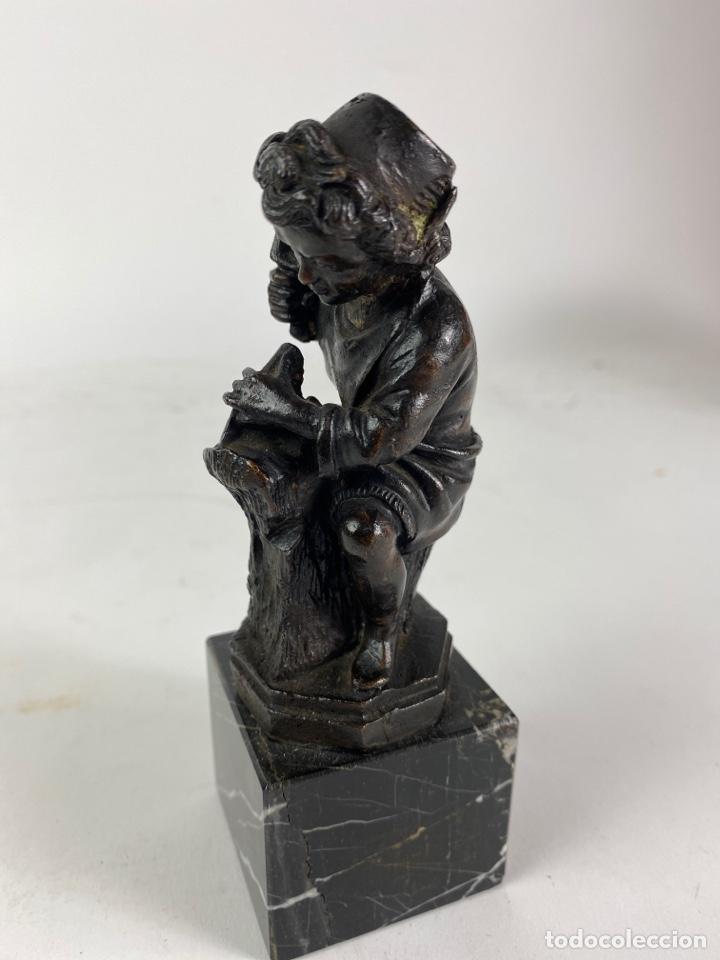 FIGURA DE BRONCE CARPINTERO. S.XX. (Arte - Escultura - Bronce)