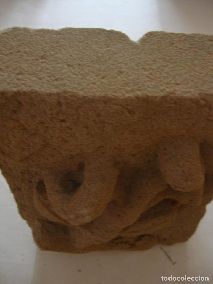 Arte: Antigua piedra arenisca tallada a mano - Foto 4 - 204704528
