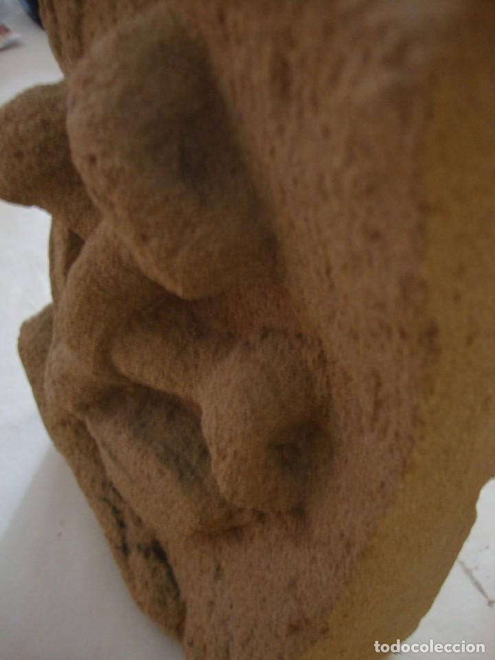Arte: Antigua piedra arenisca tallada a mano - Foto 5 - 204704528