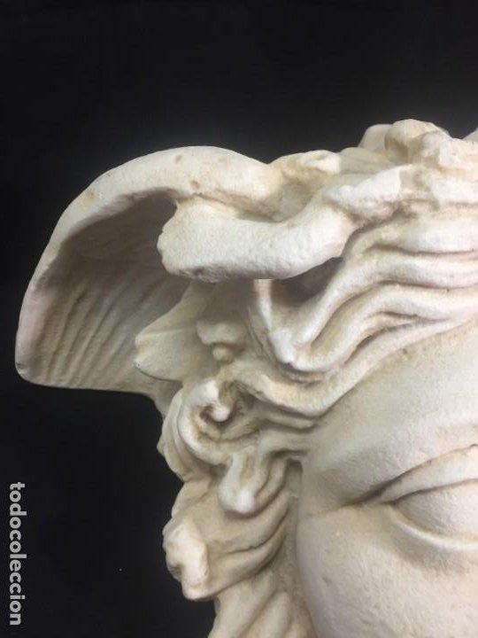 Arte: Escultura figura cabeza de medusa de Rodanini, 40 x 45 cms. en resina alta densidad 9 kgs. - Foto 8 - 205128313