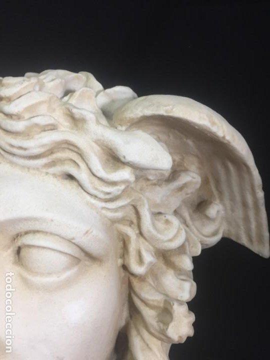 Arte: Escultura figura cabeza de medusa de Rodanini, 40 x 45 cms. en resina alta densidad 9 kgs. - Foto 10 - 205128313