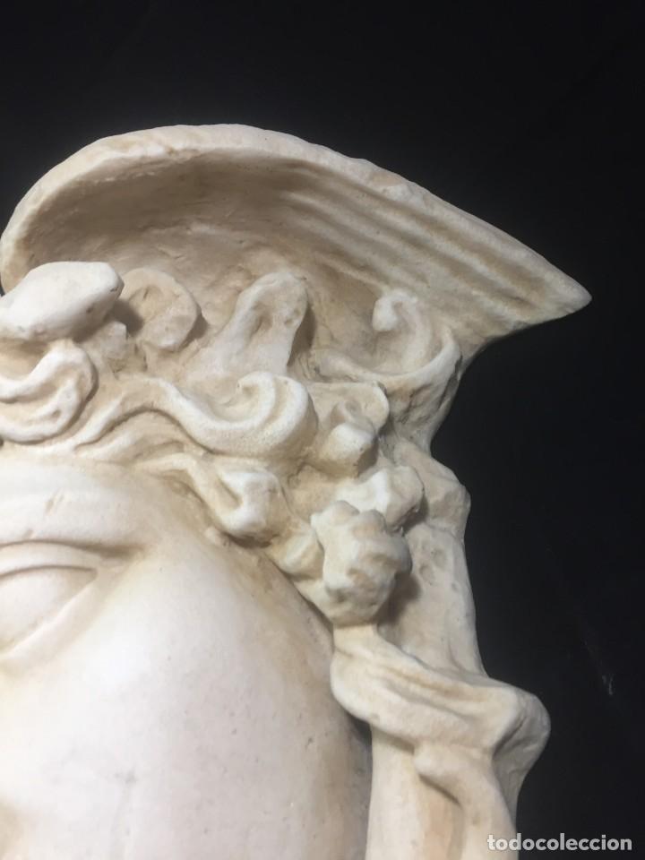 Arte: Escultura figura cabeza de medusa de Rodanini, 40 x 45 cms. en resina alta densidad 9 kgs. - Foto 11 - 205128313