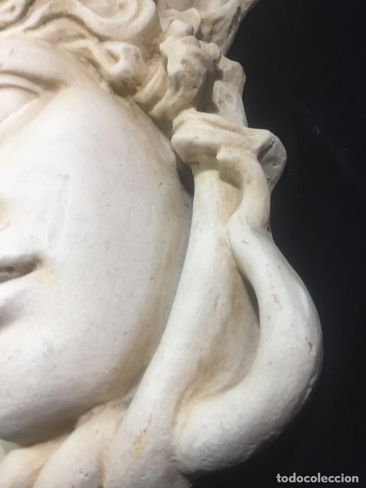 Arte: Escultura figura cabeza de medusa de Rodanini, 40 x 45 cms. en resina alta densidad 9 kgs. - Foto 12 - 205128313