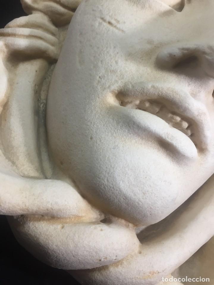 Arte: Escultura figura cabeza de medusa de Rodanini, 40 x 45 cms. en resina alta densidad 9 kgs. - Foto 13 - 205128313