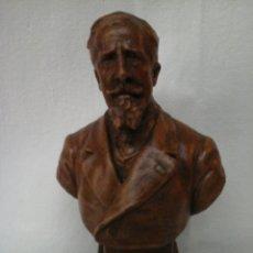 Arte: PEQUEÑA ESCULTURA DE PAUL DEROULEDE POR L.PELLEZ. Lote 205261540