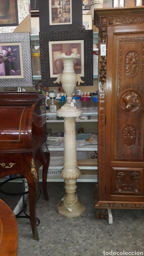 COLUMNA DE ALABASTRO (Arte - Escultura - Alabastro)