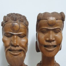 Arte: PERSONAJES AFRICANOS.. Lote 205790055