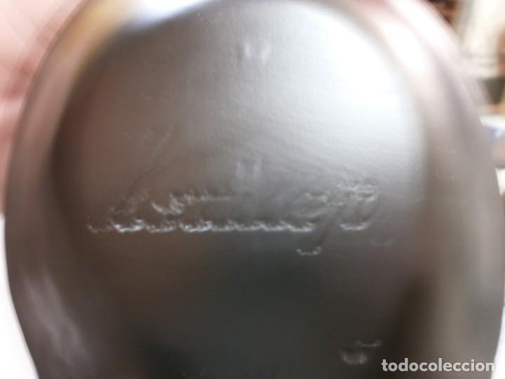 Arte: escultor kstillejo caballo tallado en madera con base de madera original firmado ver fotos - Foto 22 - 206141517