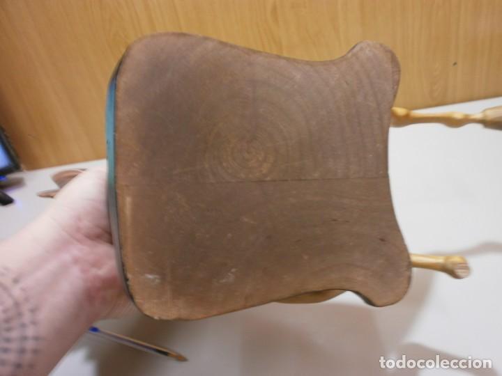 Arte: escultor kstillejo caballo tallado en madera con base de madera original firmado ver fotos - Foto 24 - 206141517