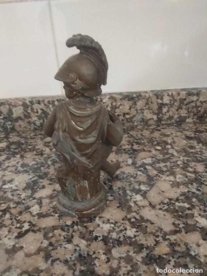 Arte: Escultura de calamina de imperio francés - Foto 3 - 207207976