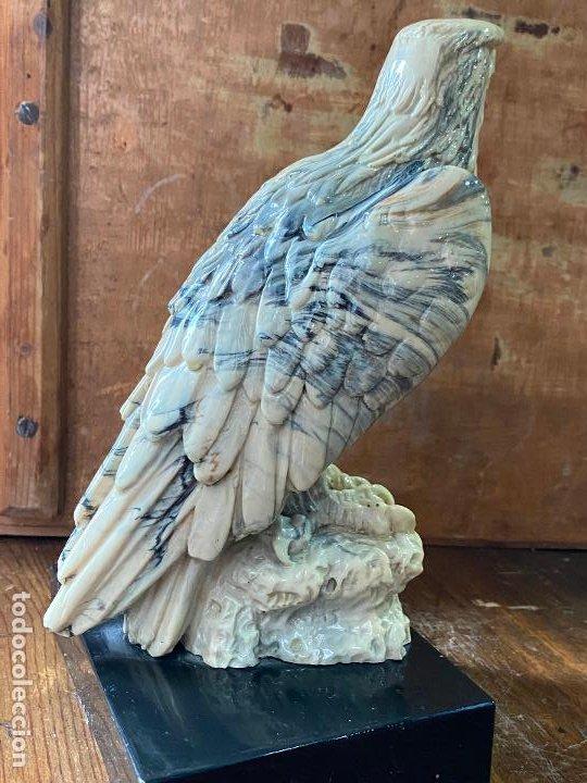 Arte: Escultura en resina - Aguila militar o similar - 23 cm de alto - Foto 3 - 207209438