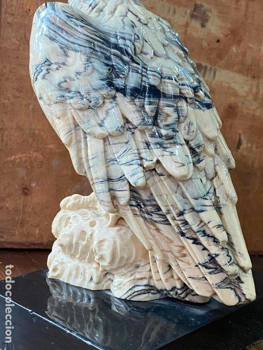 Arte: Escultura en resina - Aguila militar o similar - 23 cm de alto - Foto 5 - 207209438