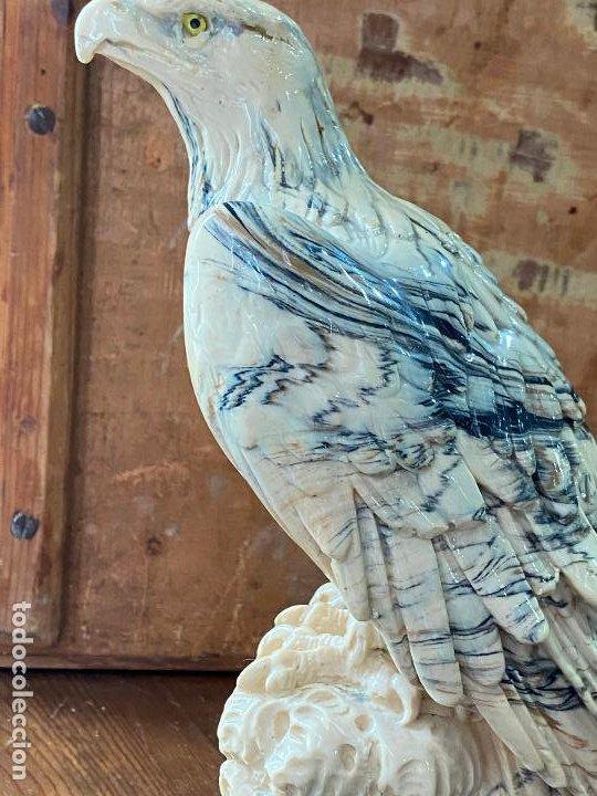 Arte: Escultura en resina - Aguila militar o similar - 23 cm de alto - Foto 6 - 207209438