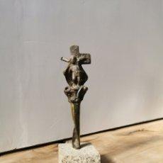 Arte: BUCIÑOS, ESCULTURA DE BRONCE. Lote 207221198