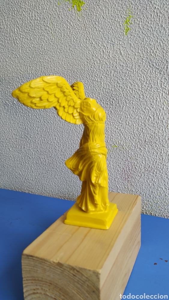 Arte: Figura resina Victoria de Samotracia. Figura decoración moderna. - Foto 2 - 224235865