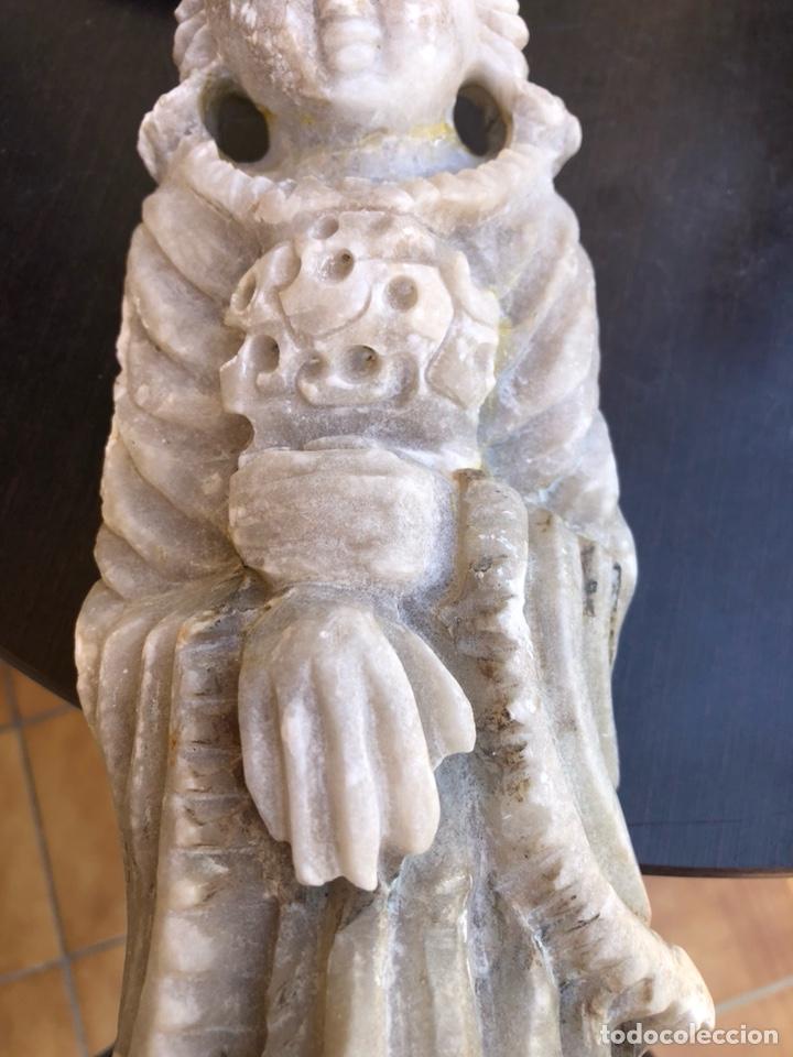 Arte: Bonita figura de alabastro para restaurar - Foto 3 - 207897032