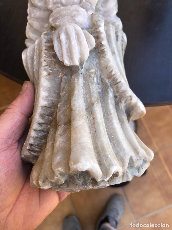 Arte: Bonita figura de alabastro para restaurar - Foto 4 - 207897032