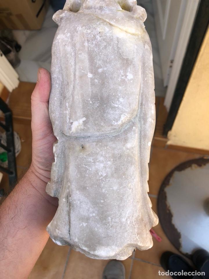 Arte: Bonita figura de alabastro para restaurar - Foto 6 - 207897032