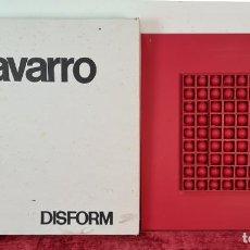 Arte: CONSTRUCCIÓN ESFÉRICA REGRESIVA. DISFORM EDICIONES DE ARTE. JOSEP NAVARRO. 1974.. Lote 207952607