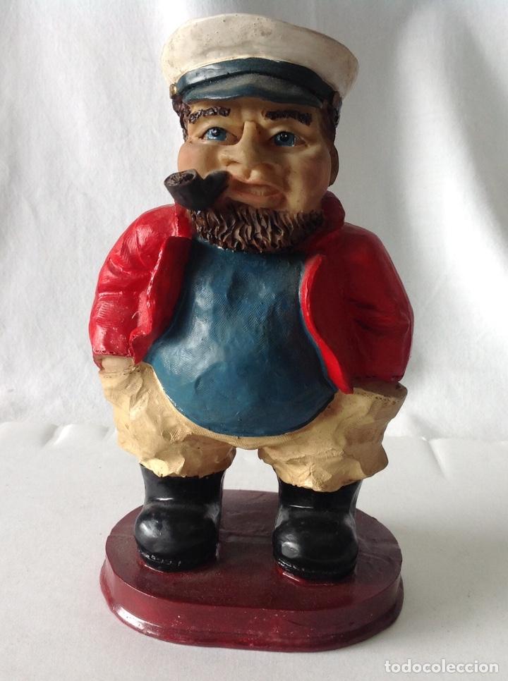 Arte: Figura de Popeye, y/o de Marinero, a elegir. 17x9x7 cm. - Foto 2 - 208287332