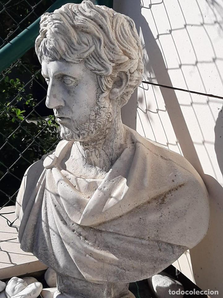 BUSTO ROMANO (Arte - Escultura - Piedra)