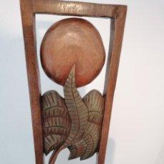Arte: SOL SOBRE PALMERAS IBIZA. Lote 208335226