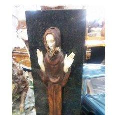 Arte: ESCULTURA .. O SANTIAGUIÑO...ANGEL MAREQUE..PIONERO DE LA ESCUELA DE ARTES Y OFICIOS DE VIGO. Lote 208501856