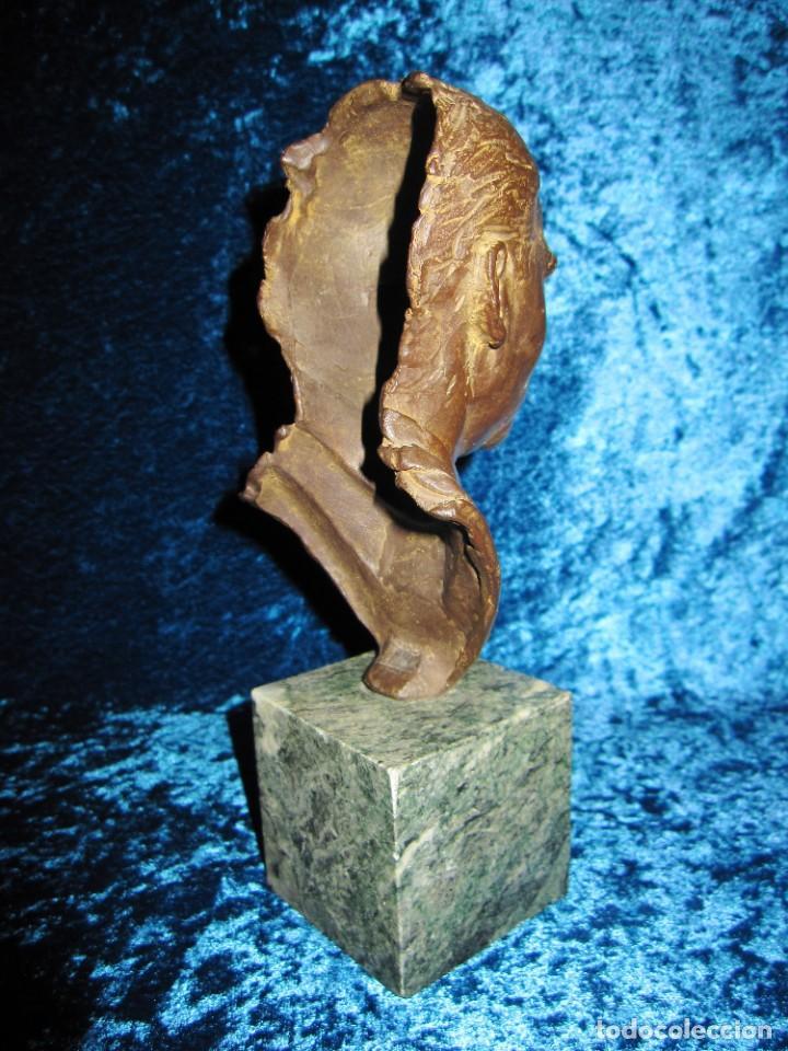 Arte: Busto bronce Federico García Lorca. Miguel Moreno. Certificada y numerada - Foto 5 - 219203811