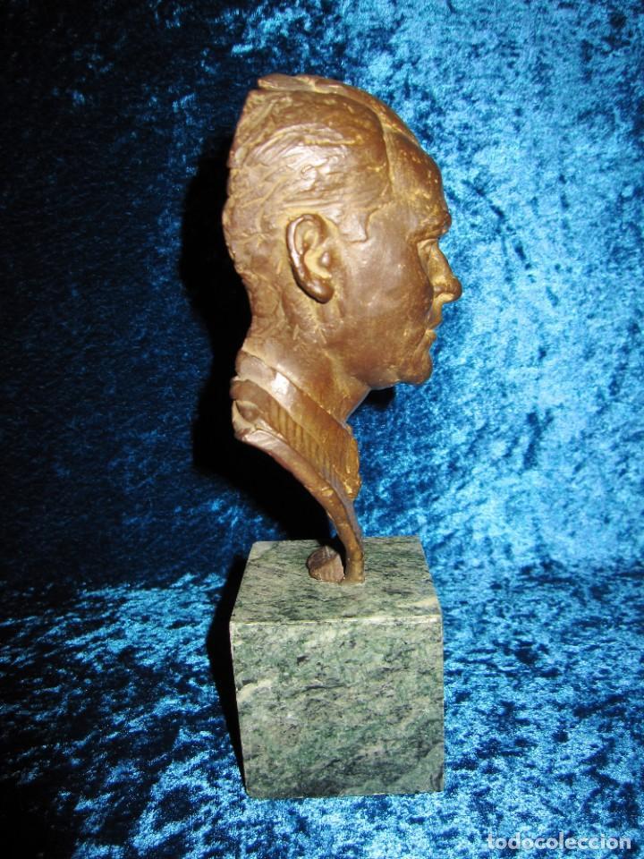 Arte: Busto bronce Federico García Lorca. Miguel Moreno. Certificada y numerada - Foto 6 - 219203811