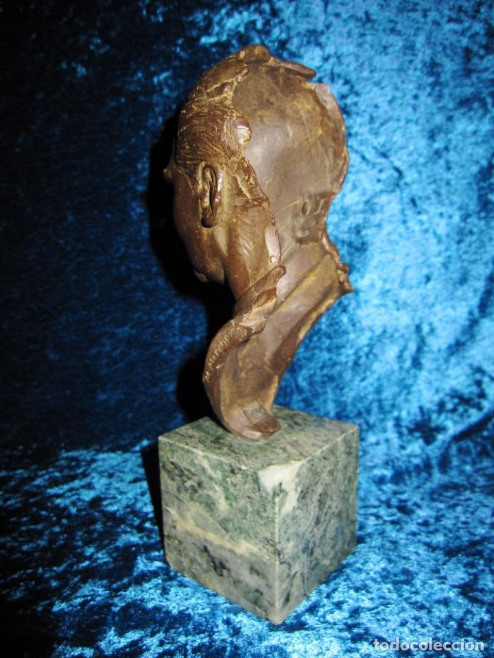 Arte: Busto bronce Federico García Lorca. Miguel Moreno. Certificada y numerada - Foto 8 - 219203811