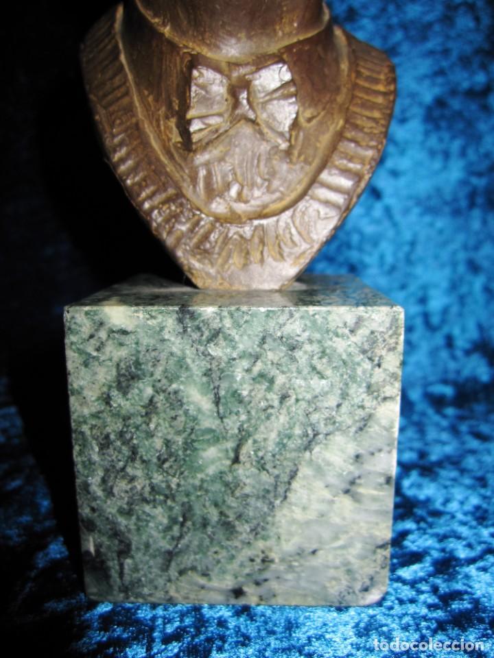 Arte: Busto bronce Federico García Lorca. Miguel Moreno. Certificada y numerada - Foto 12 - 219203811