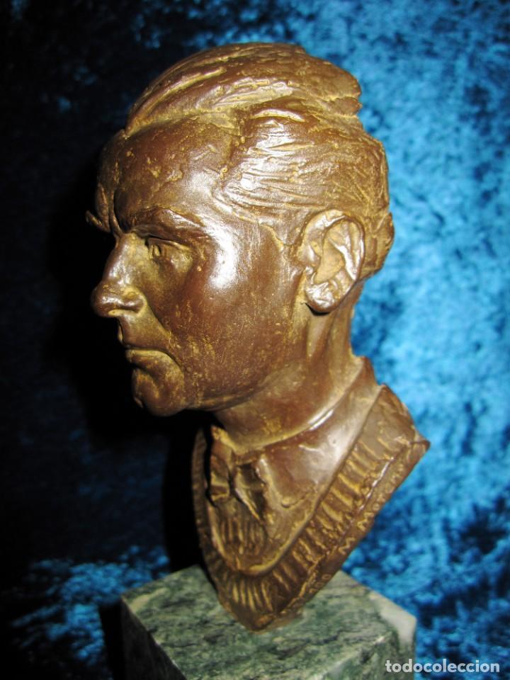 Arte: Busto bronce Federico García Lorca. Miguel Moreno. Certificada y numerada - Foto 15 - 219203811