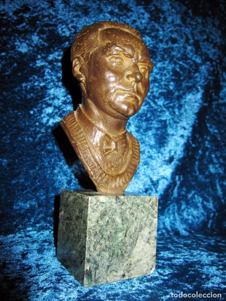 Arte: Busto bronce Federico García Lorca. Miguel Moreno. Certificada y numerada - Foto 18 - 219203811