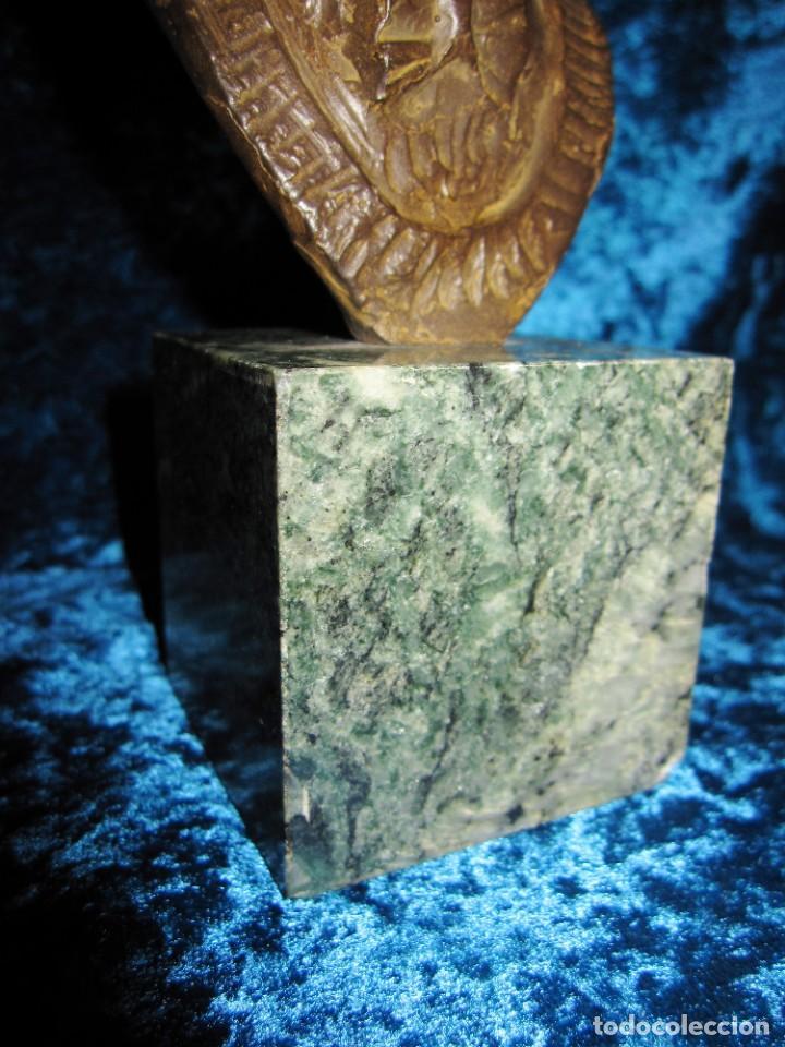 Arte: Busto bronce Federico García Lorca. Miguel Moreno. Certificada y numerada - Foto 20 - 219203811