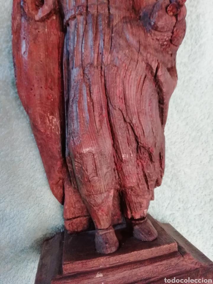 Arte: Talla de madera antigua - Foto 5 - 208866246