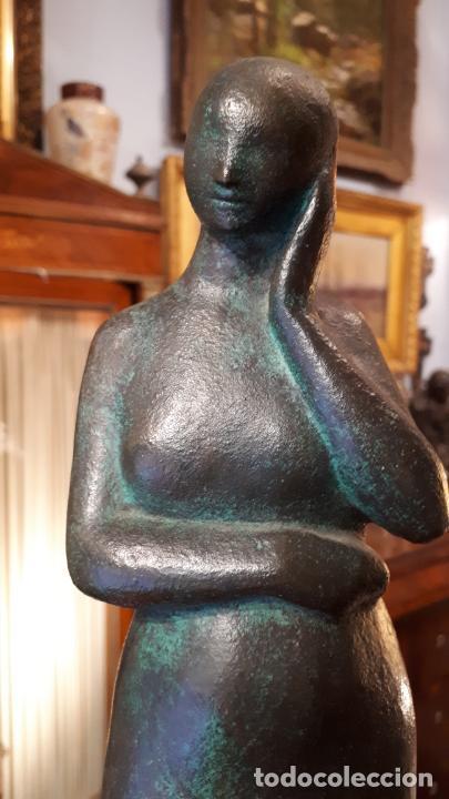 BRONCE. JOSE L. MEDINA.1958. (Arte - Escultura - Bronce)