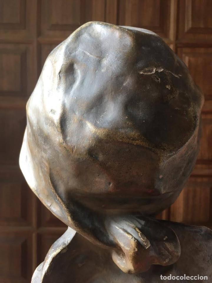 Arte: Busto modernista de mujer joven - Foto 6 - 208974266
