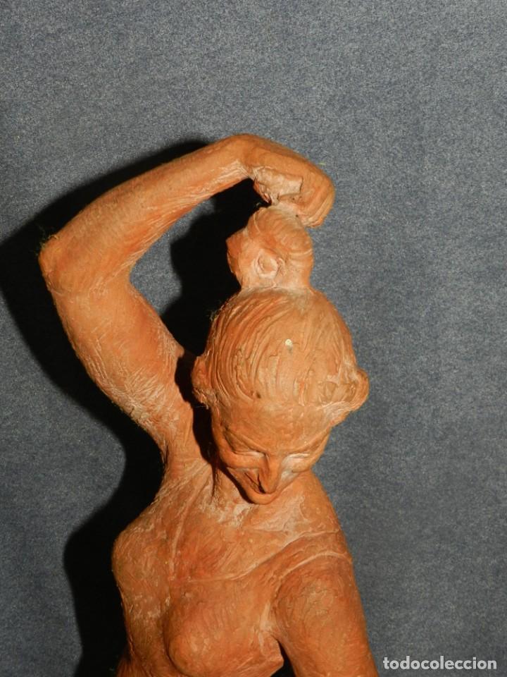Arte: (M) ESCULTURA DE TERRACOTA BAILADORA DE FLAMENCO - FIRMADA J CARDELLÀ I CRUSSELL - Foto 6 - 209101630