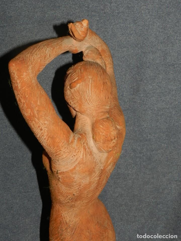 Arte: (M) ESCULTURA DE TERRACOTA BAILADORA DE FLAMENCO - FIRMADA J CARDELLÀ I CRUSSELL - Foto 12 - 209102495
