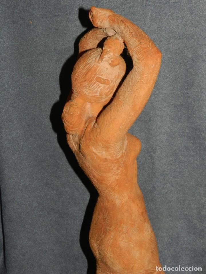 Arte: (M) ESCULTURA DE TERRACOTA BAILADORA DE FLAMENCO - FIRMADA J CARDELLÀ I CRUSSELL - Foto 13 - 209102495