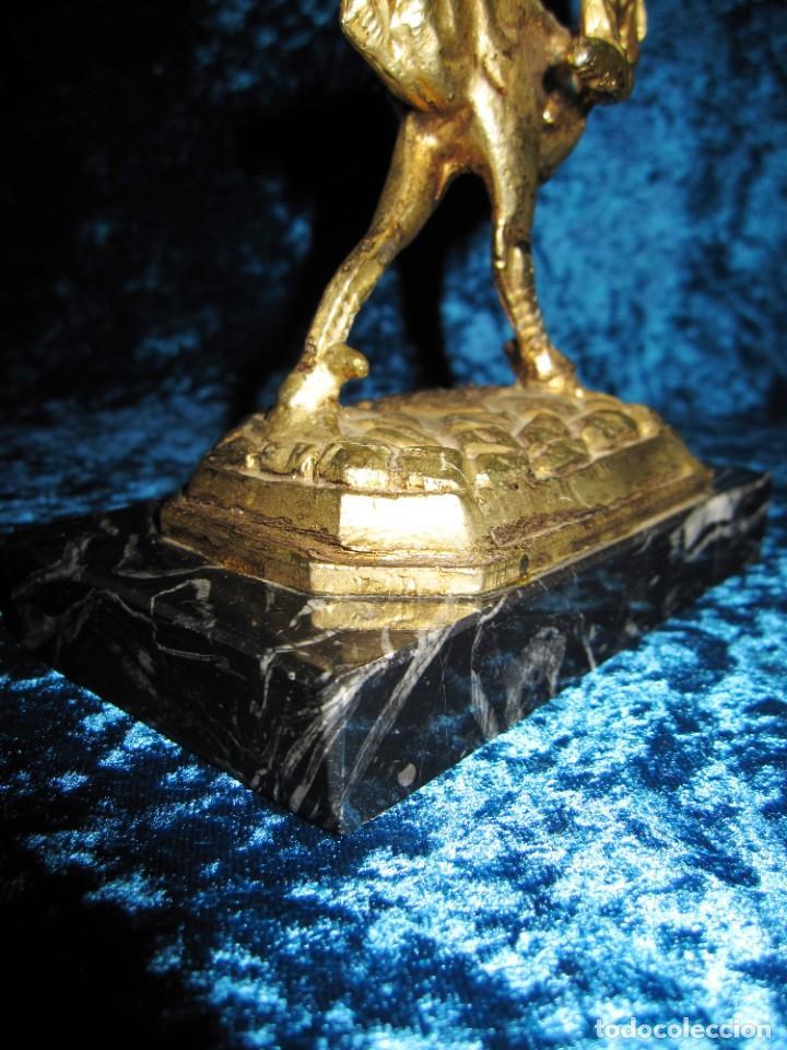 Arte: Gallo de Morón bronce mármol - Foto 14 - 209153032