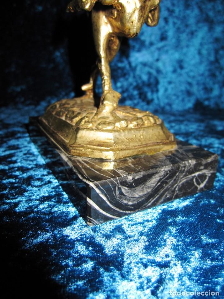 Arte: Gallo de Morón bronce mármol - Foto 15 - 209153032