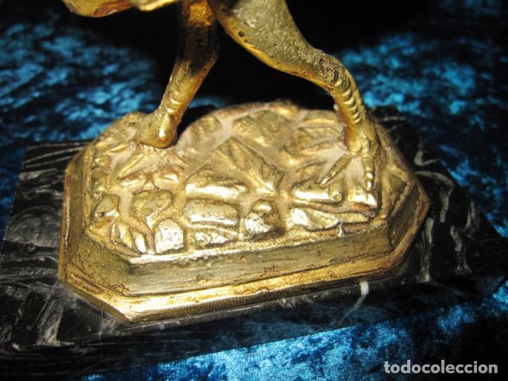 Arte: Gallo de Morón bronce mármol - Foto 19 - 209153032