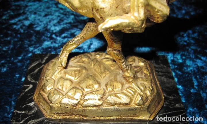 Arte: Gallo de Morón bronce mármol - Foto 20 - 209153032