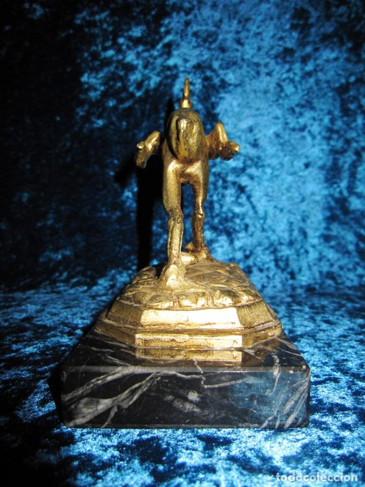 Arte: Gallo de Morón bronce mármol - Foto 23 - 209153032
