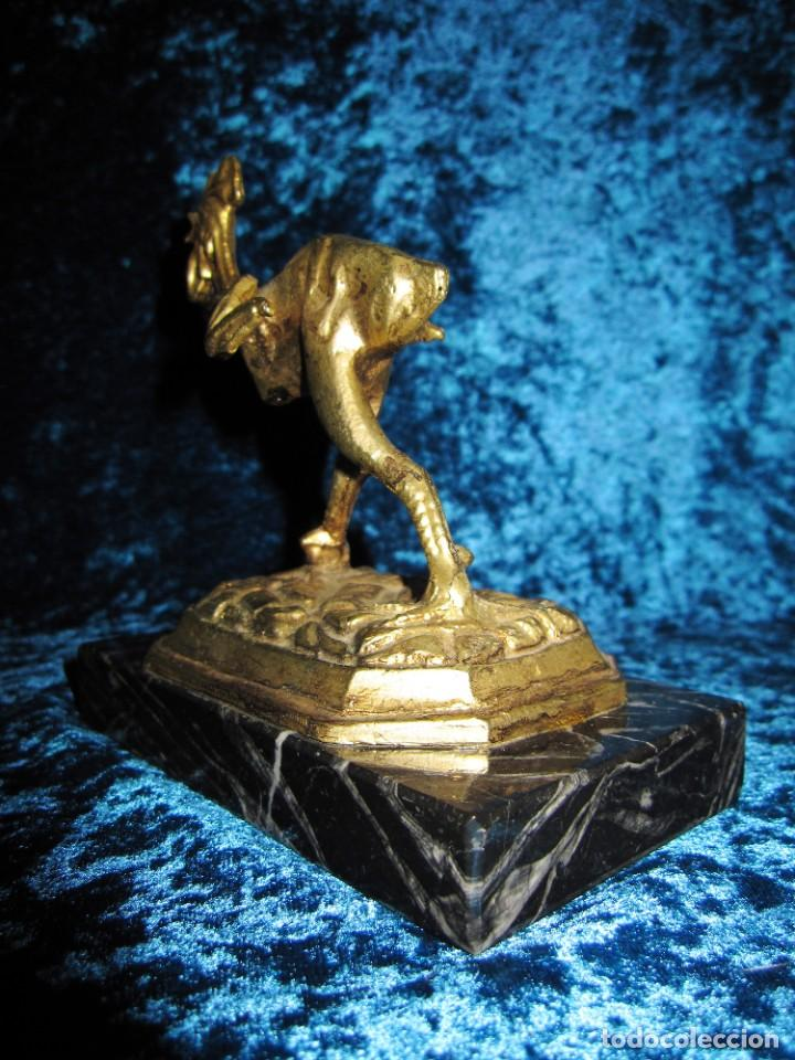Arte: Gallo de Morón bronce mármol - Foto 24 - 209153032