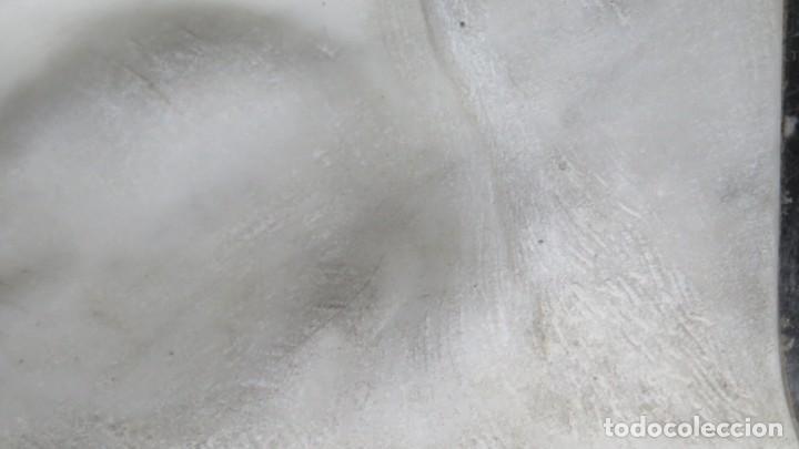 Arte: RETRATO EFIGIE DE CABALLERO EN BAJORRELIEVE. MARMOL. JUAN GURAYA (1893-1965). LA HABANA. 1925 - Foto 11 - 209572235