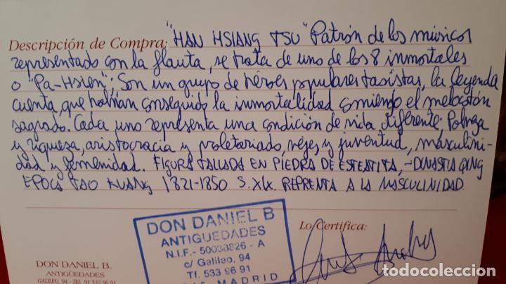 Arte: PATRÓN DE LOS MUSICOS, SIGLO XIX.FIGURA PIEDRA. - Foto 3 - 209587487