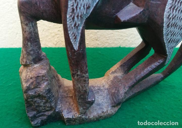 Arte: JINETE A CABALLO TALLADO EN PIEDRA, PERFECTO ESTADO - Foto 4 - 209785771